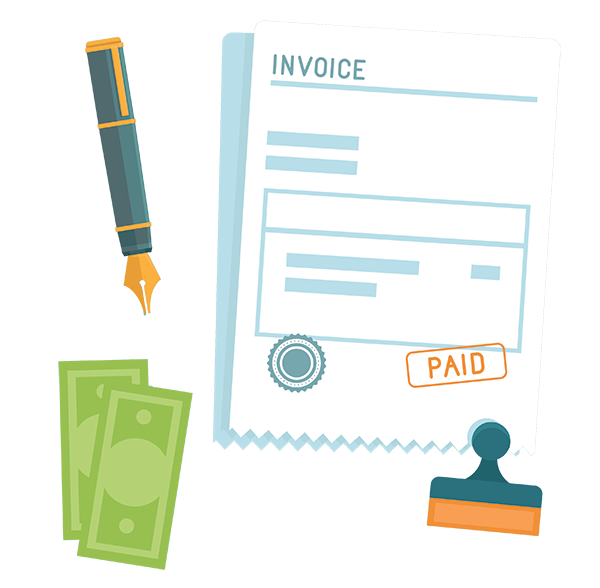 how to do an invoice
