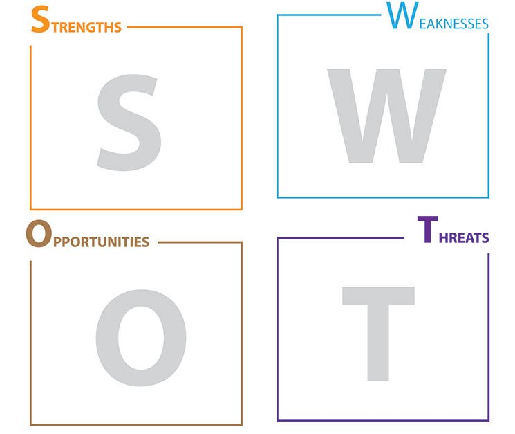 swot analysis for charity